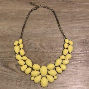 Jewelry - Yellow Statement Necklace